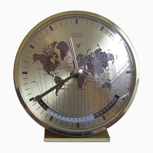 Kienzle World Clock by Heinrich Möller for Kienzle International, 1970s