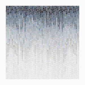 Consola Time & Space Ombre 4, serie A de vidrio y vidrio mosaico de Neal Aronowitz