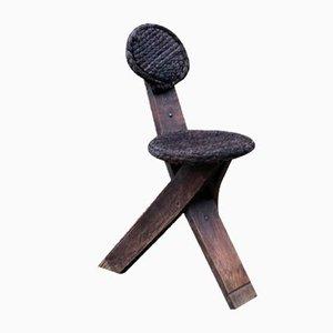 Vintage Stuhl von Adrien Audoux & Frida Minet