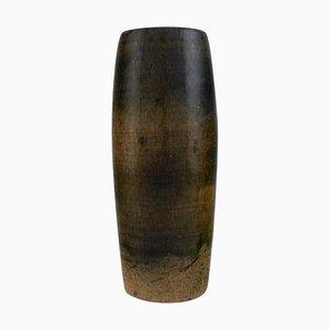 Vase aus glasiertem Steingut von Ole Bjørn Krüger, 1960er
