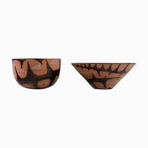 Danish Bowls by Ole Bjørn Krüger, Set of 2