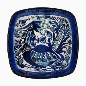 Handbemalte Schale in Glasiert von Marianne Johnson für Royal Copenhagen