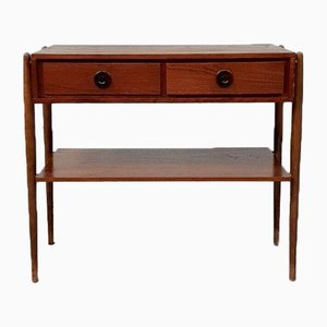 Mid-Century Danish Compact Console Table