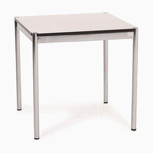 USM Haller White Metal Desk