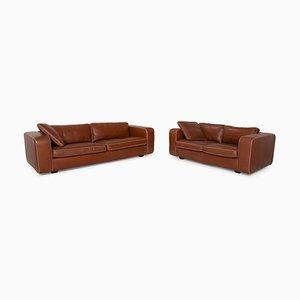 Machalke Valentino Leather Sofa Set, Set of 2