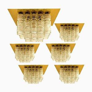 Deckenlampe von Boris Tabacoff, 1970er