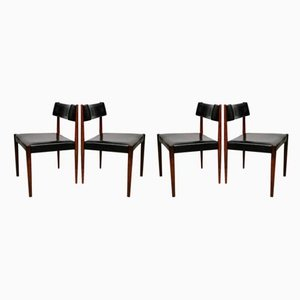 Mid-Century Dining Chairs by Aksel Bender Madsen for Bovenkamp, Set of 4