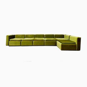 Modulares Mid-Century Sofa, 6er Set