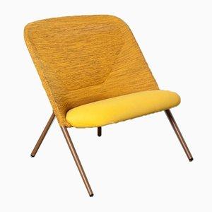 Shift Yellow Lounge Chair by Jonas Forsman Moooi