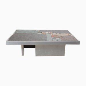 Aluminum Coffee Table by Paul Kingma