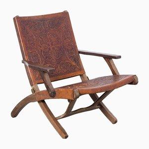 Chaise Pliante par Angel I. Pazmino pour Muebles de Estilo