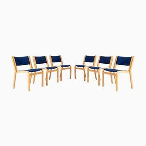 Chairs by Rud Thygesen and Johnny Sørensen for Magnus Olesen, Denmark, Set of 6