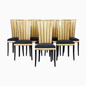 Finnish Cranbrook House Dining Chairs by Eliel Saarinen, Set of 8