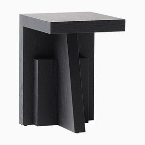 Tavolino Wolf in legno di frassino di Lupo Horiōkami