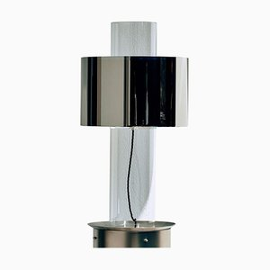 Lámpara de mesa Miami flotante plateada de Brajak Vitberg para Cor