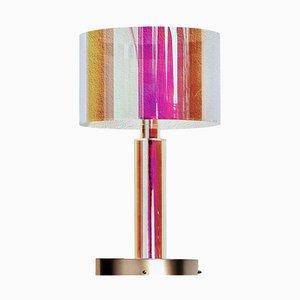 Miami Rosa Tischlampe von Brajak Vitberg für Cor