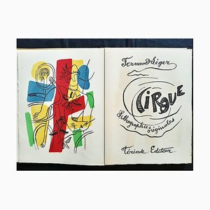 Fernand Léger, The Circus, Seltenes Vintage Buch, 1950