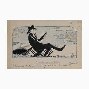 Decadencia poética, dibujo, 1931