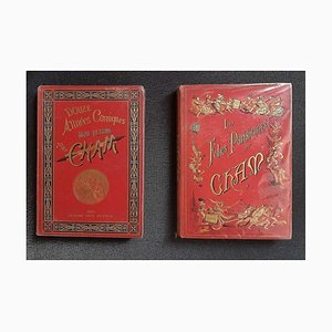 Charles Amedee De Noe (Cham), Les Folies Parisiennes, Vintage Rare Book, 1883