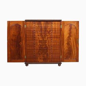 Mueble de colección Flame de caoba