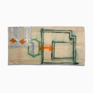 Porch Drawing 6, Abstract Painting, 2010 di Orma