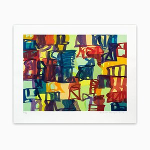 Small Abstract, Abstract Print, 2008