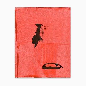 Frankly Scarlet 47, Pittura astratta, 2021