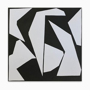Stampa cut-up 2007, Abstract Painting, 2020