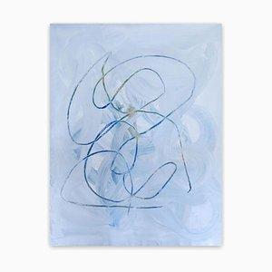 Resti pacifici, pittura astratta, 2020