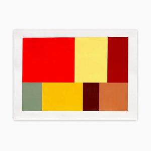 Test Pattern 8 Neapel, Abstrakte Malerei, 2005