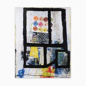 Color Trac # 27, Abstrakte Malerei, 2020