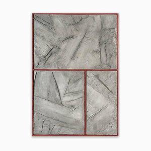 Graue Graphite, Abstrakte Malerei, 2016, Orma