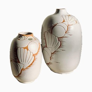 Steingut Vase von Anna-Lisa Thomson
