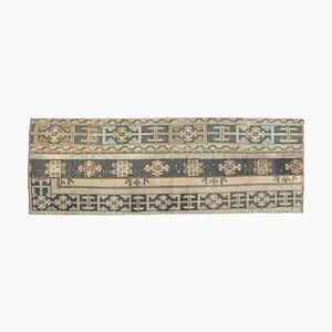 Vintage Turkish Patchwork Wool Carpet