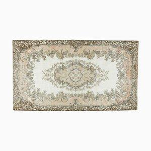 Handgeknüpfter orientalischer Vintage Teppich aus Wolle