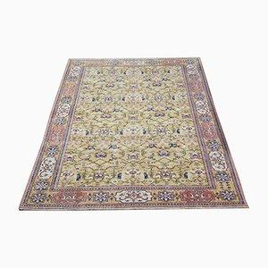 Turkish Vintage Handmade Wool Carpet
