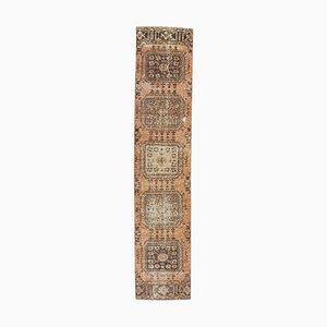 Türkischer Vintage Vintage Läufer Teppich