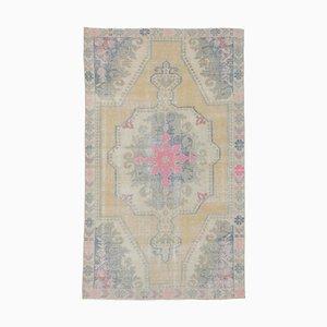 Handgeknüpfter orientalischer Oushak Teppich aus Wolle