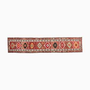 Turkish Vintage Oushak Wool Rug