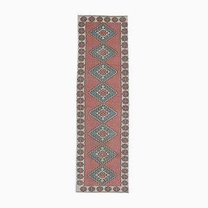 Türkischer Vintage Oushak Wollteppich