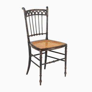 Ebonised Regency Chair