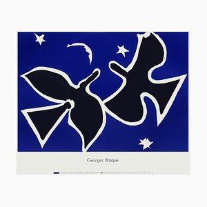 Póster Birds Central Part de Georges Braque