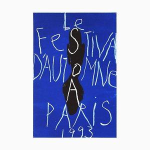 Autumn Festival Plakat von Jean-Charles Blais
