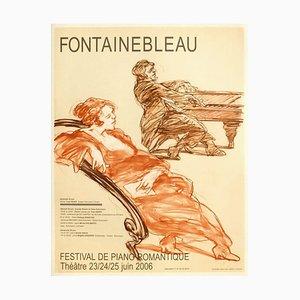 Expo 2006 Romantic Piano Festival Poster von Claude Weisbuch