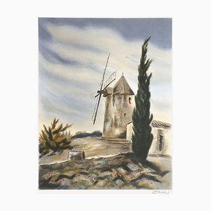Daudets Windmill in Fontvieille by Zarou