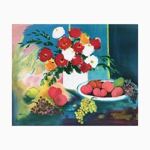 Flores y frutas de Claude Balta
