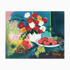 Flowers and Fruits by Claude Balta