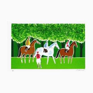 Cheval et Cavalier 18 par Serge Lassus
