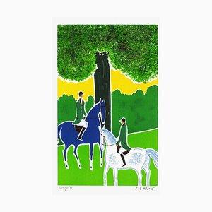 Horses and Riders 14 von Serge Lassus