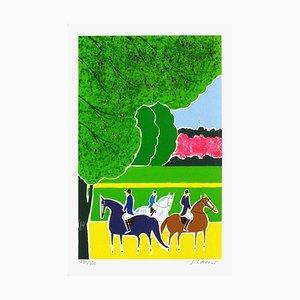 Horses and Riders 13 von Serge Lassus